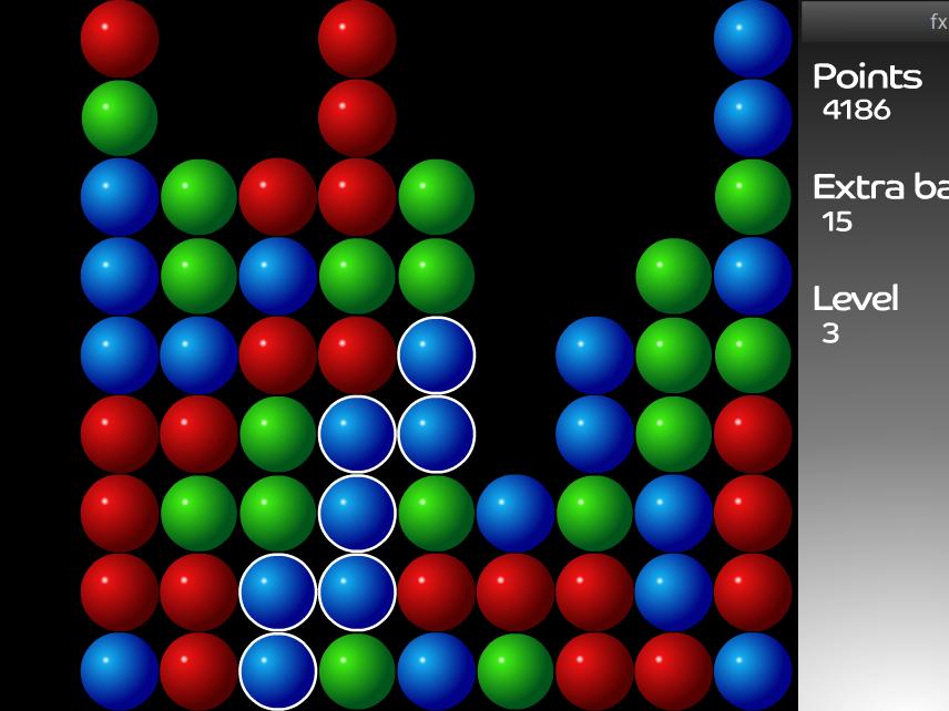 Сказочный замок - играть бесплатно онлайн шарики